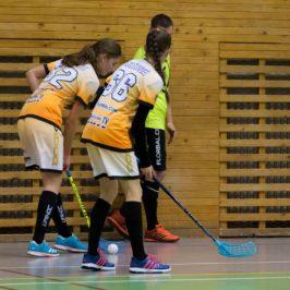 Děvčata gólostrojem v poslední třetině otočily zápas proti Kočkám